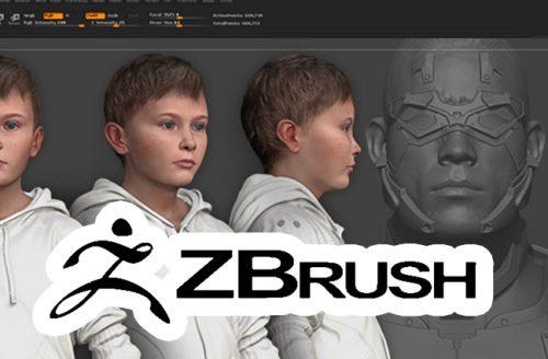 Zbrush Modelado Orgánico 3D +16 años